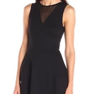 French Connection Dress Illusion A Line LBD 4 NWT